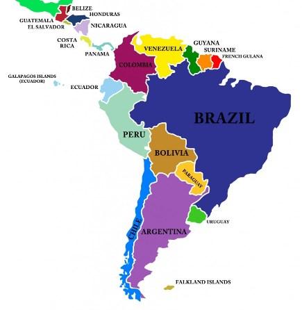 kart latin amerika Kulturstudier Sverige   Google+ kart latin amerika